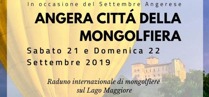ANGERA LA CITTA' DELLA MONGOLFIERA: CAMBIO PROGRAMMA EVENTO