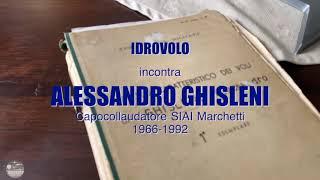 Idrovolo incontra il Com.te Alessandro Ghilsleni